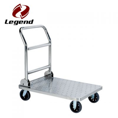 Platform luggage trolley
