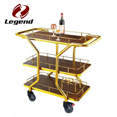 Hotel Liquor Trolley,Liquor Service Trolley,Wine Serving Cart