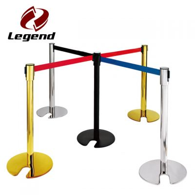 Barrier Stanchion,Retractable Railing Stand,Stanchion Post