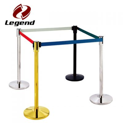 Barrier Stanchion,Queue Pole Stanchion,Retractable Belt Barrier