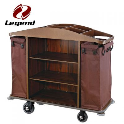 Equipment Housekeeping Carts,Hotel Housekeeping Trolley Maid Cart,Multi-purpose Hotel Housekeeping Maid Cart Trolley,Room Cleaning Service Cart