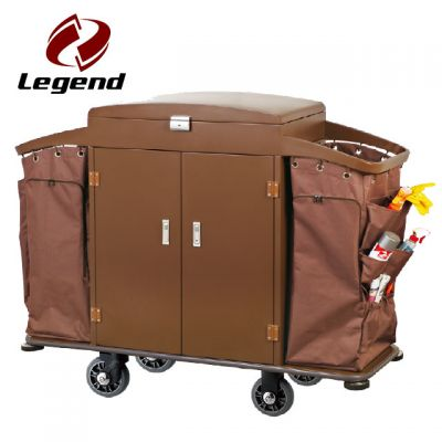 Equipment Housekeeping Carts,Hotel Housekeeping Trolley Maid Cart,Hotel Restaurant Supply,Housekeeping Carts & Hospitality Carts,Janitorial & Cleaning Carts,Metal Housekeeping Carts