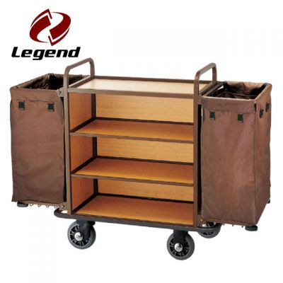 Equipment Housekeeping Carts,Hotel Housekeeping Trolley Maid Cart,Housekeeping & Room Service Carts for Hotels,Housekeeping Supplies