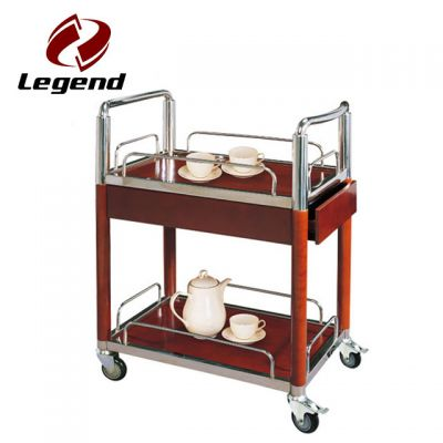 liquor service trolley,wine serving trolley